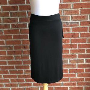 APT. 9 Black Lined Pencil Skirt - Size M